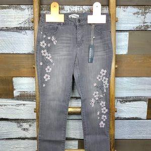 Artisan NY gray skinny jeans